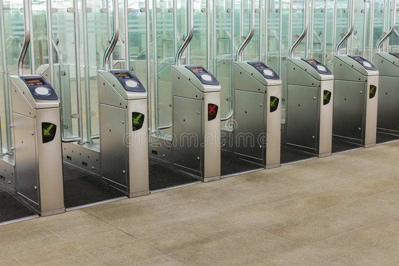Download Entrance Of A Subway Station Stock Photo - Image: 26483248