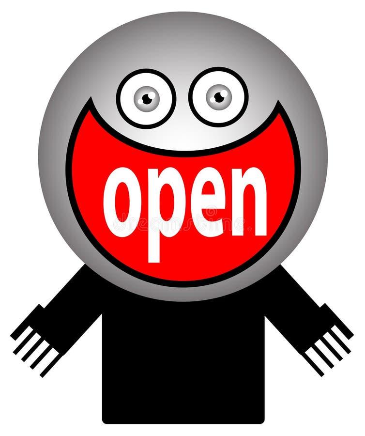 Entrance symbol royalty free illustration