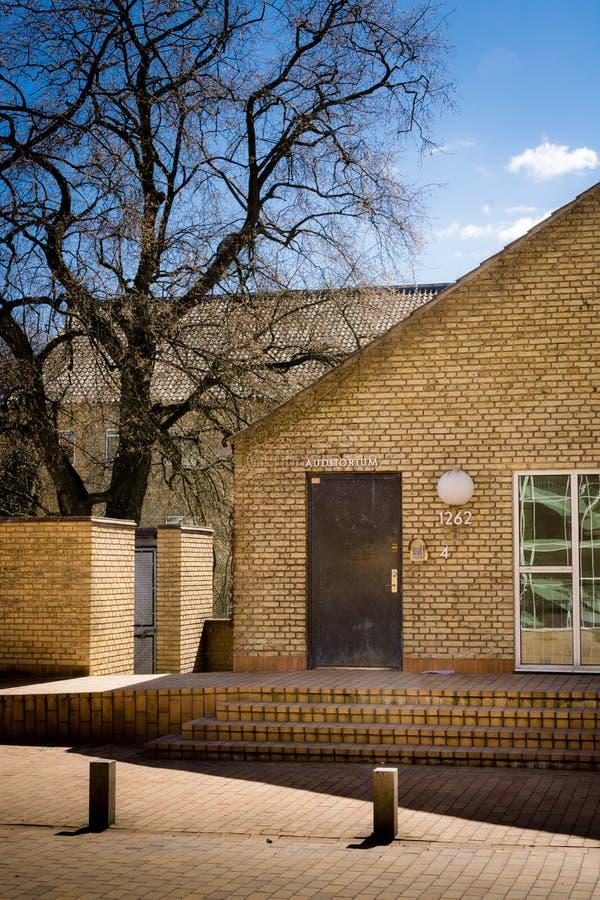 Free Entrance To 1262 - Aarhus University, Denmark Stock Photos - 70960323