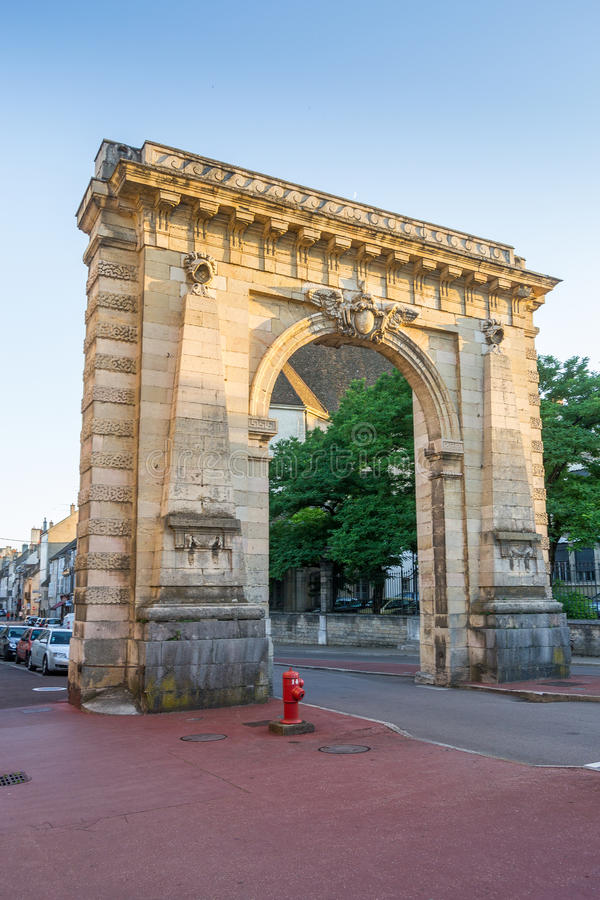 Entrance to Beaune - France. Gate at the Entrance of Beaune - France royalty free stock photo