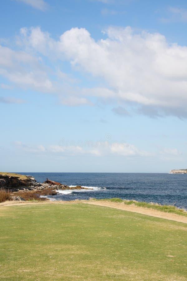 Entrance to Botany Bay Australia stock photo