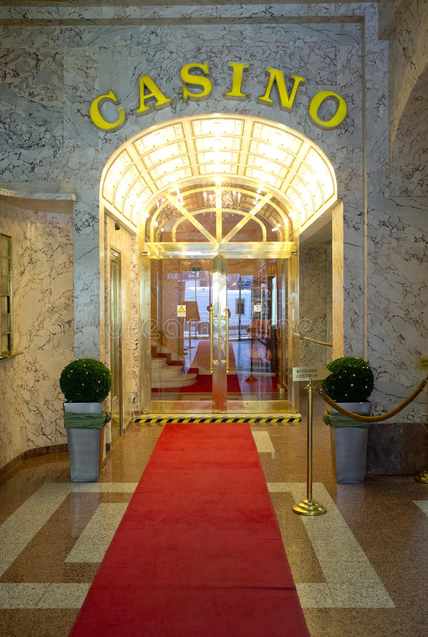 Download Casino in Prague editorial photography. Image of business - 30131407