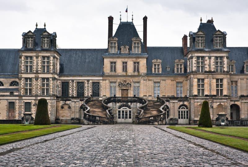 Download Entrance To The Chateau De Fontainebleau, Paris Stock Image - Image: 27707615