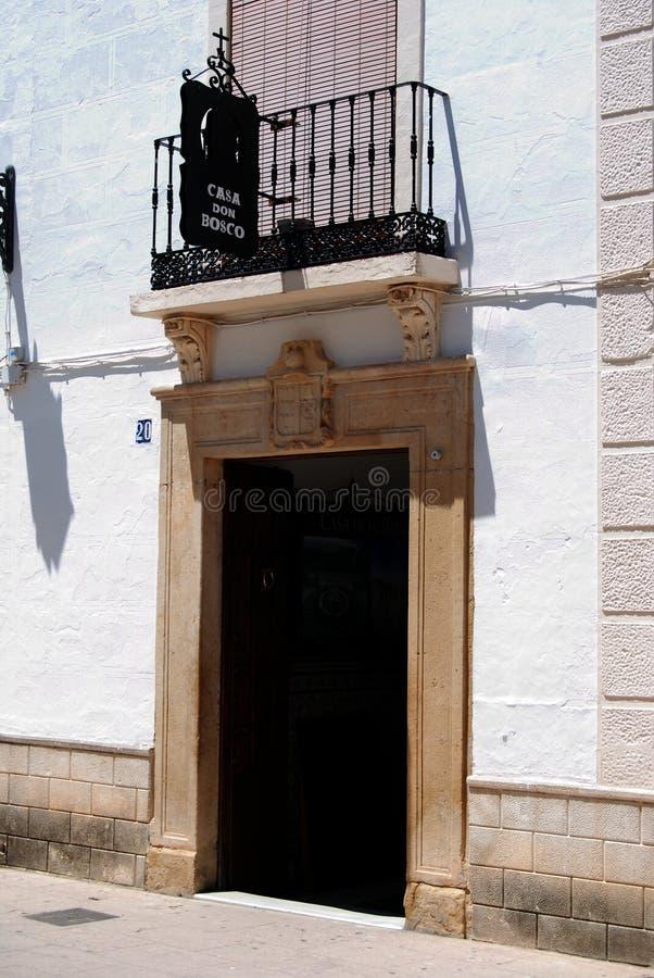 Don Bosco House, Ronda, Spain. stock images