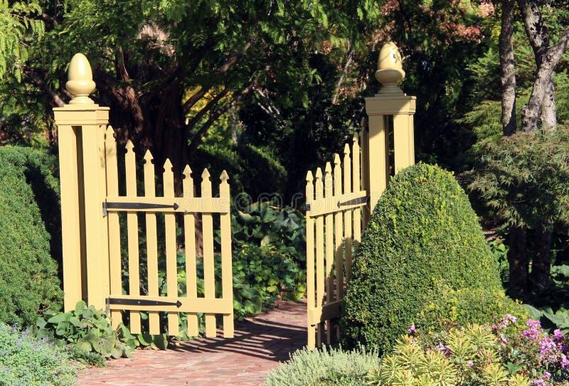 Entrance to the Garden royalty free stock photos
