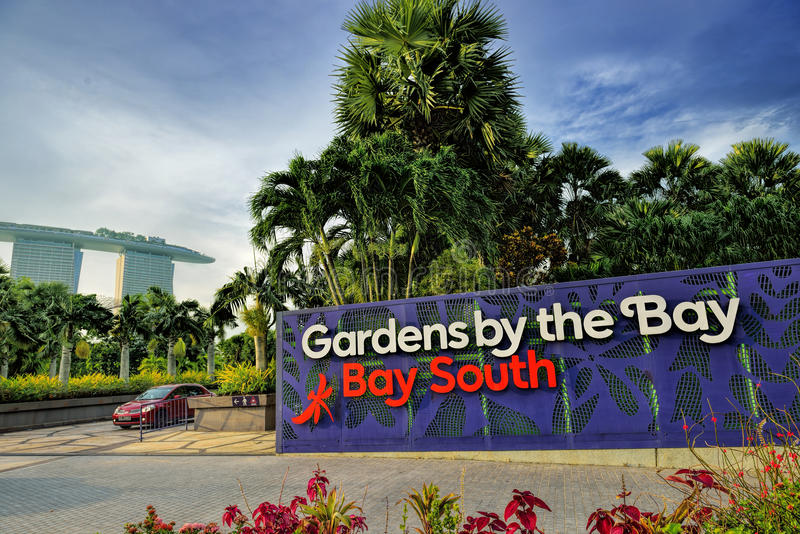 Ordinaire Download Entrance To Gardens By The Bay Editorial Image   Image Of Sign,  Luxury: