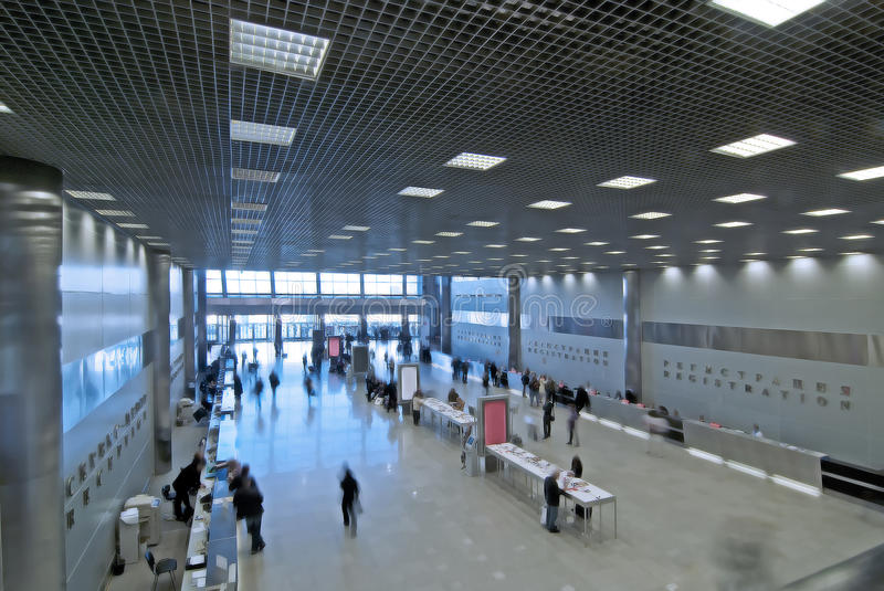 Entrance To The Large  Hall Stock Image