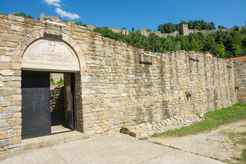 Entrance to the Lavra of forty Holy Martyrs in Veliko Tarnovo stock photo