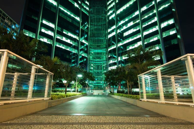 Facade of Modern Office Building stock photography