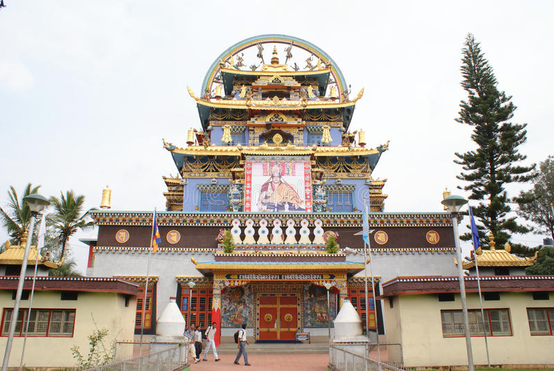 Download Entrance To Namdroling Monastery In South India Editorial Stock Image - Image: 20125364
