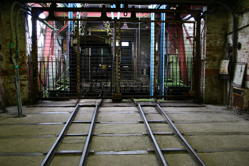 Download Entrance to Old Lift Shaft stock image. Image of black - 173725