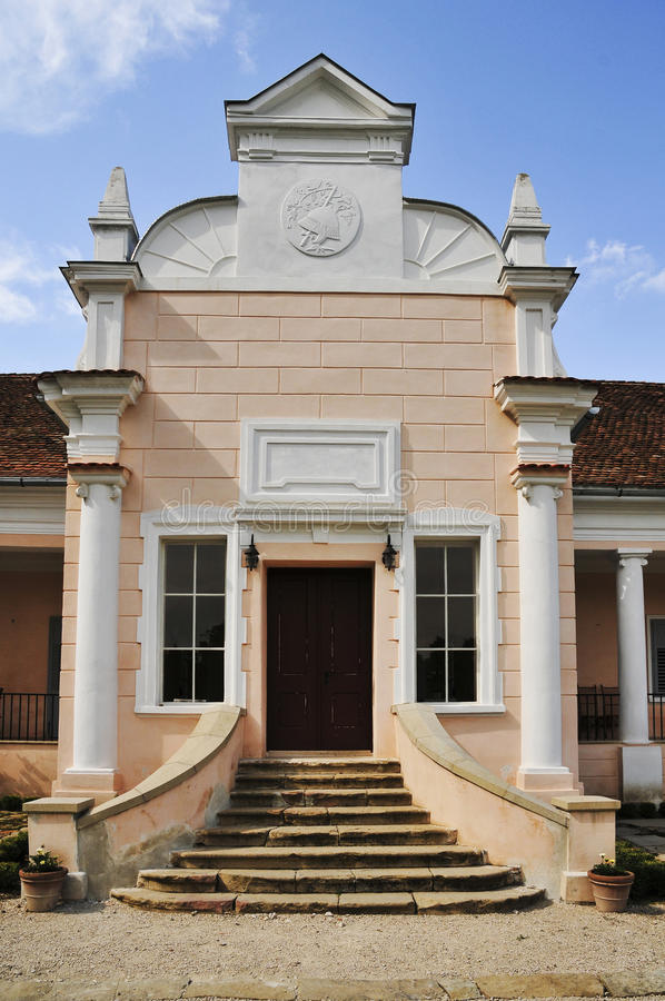 Download Entrance to old residence stock photo. Image of brick - 10528390