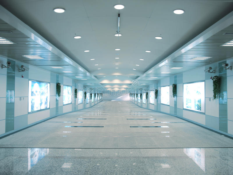 Download Entrance to subway station stock image. Image of inside - 12200237