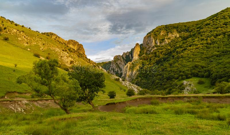 The Turda Gorge royalty free stock images