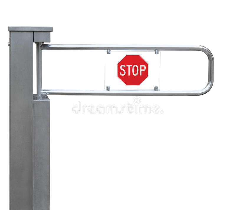 Download Entrance Tourniquet, Turnstile Stainless Steel Red Stock Image - Image of input, checking: 33855587