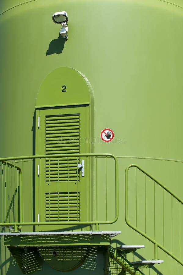 Download Entrance turbinwind fotografering för bildbyråer. Bild av tillförsel - 19794193