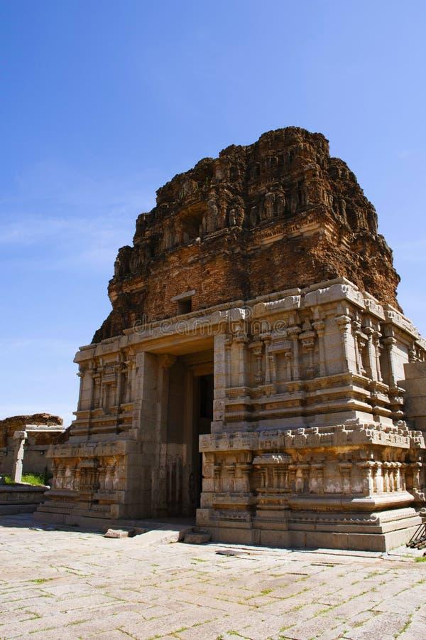 Entrance of the Vittala Temple, Hampi, Karnataka, India. Entrance of the Vittala Temple, Hampi, Karnataka state of India stock image