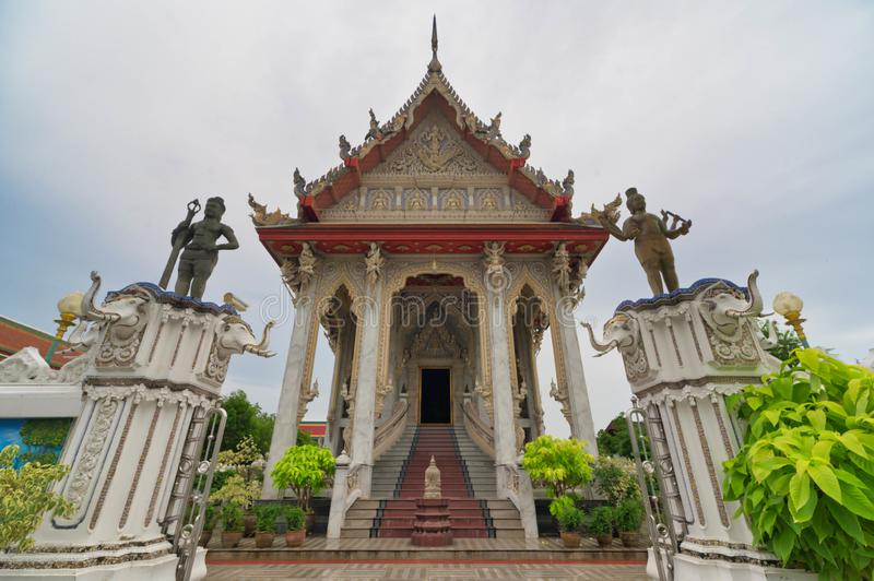 Wat Klang Bang Kaew, Nakhon Pathom, Thailand  royalty free stock photo