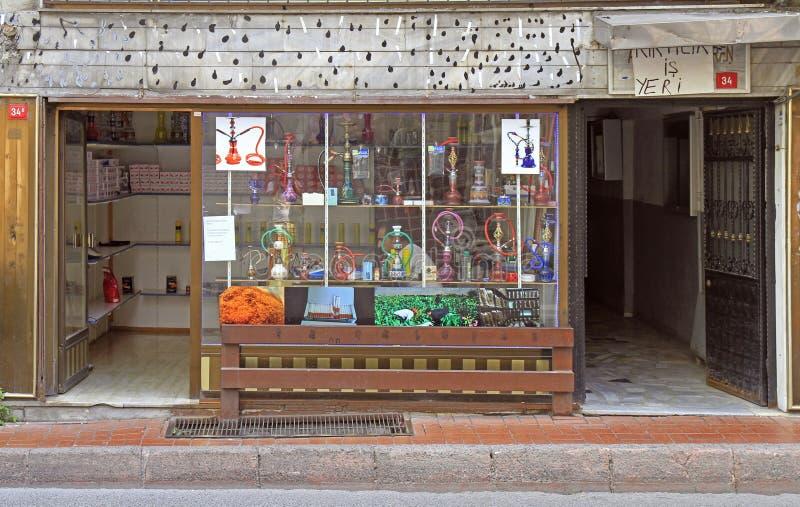 Hookah Shop in Jordan editorial photography  Image of empty