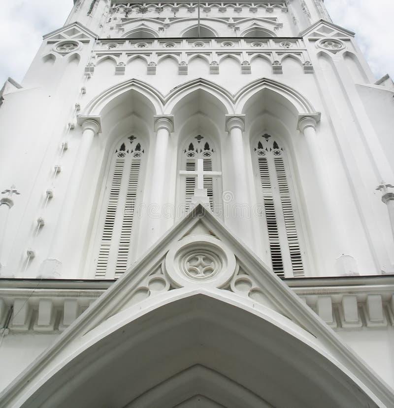 Entrata Ad Una Cattedrale Fotografia Stock