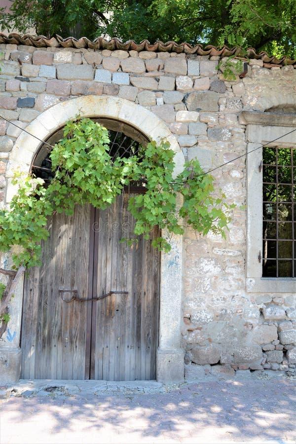 Entrata al castello fotografia stock