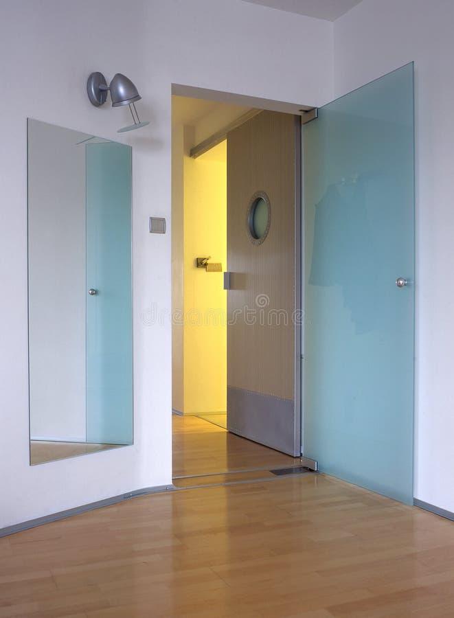 Entrata al corridoio fotografie stock