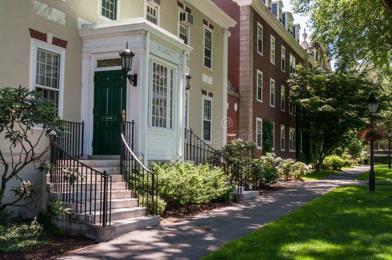 Scuola di commercio di Harvard, Boston fotografie stock