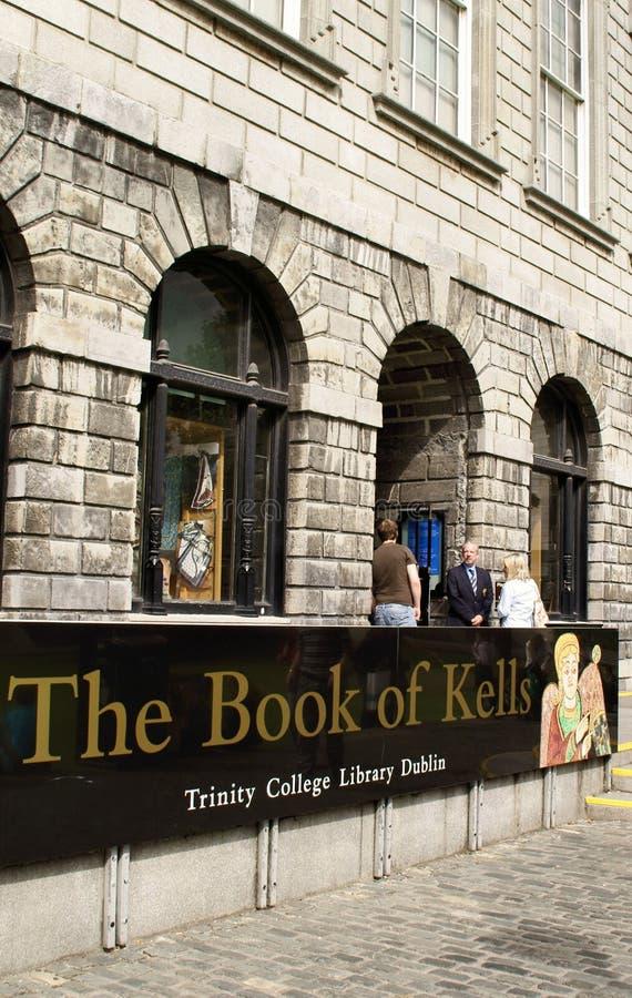 Entrata al libro di Kells fotografia stock libera da diritti