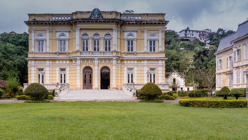 Entrata anteriore di Palacio Rio Negro fotografia stock libera da diritti