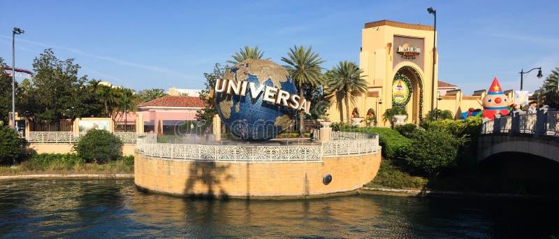 Entrata degli studi universali a Orlando, FL immagine stock libera da diritti