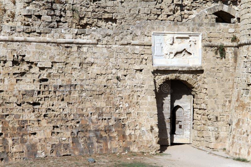 Entrata del castello immagine stock