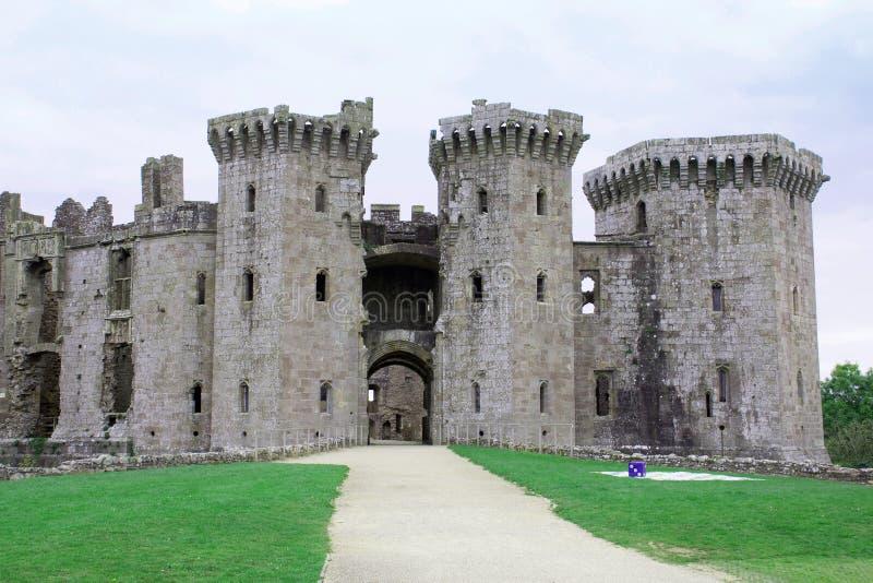 Entrata 2 del castello del raglan grande immagini stock libere da diritti