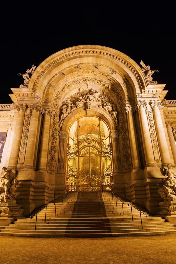 Entrata del Petit Palais a Parigi immagini stock libere da diritti