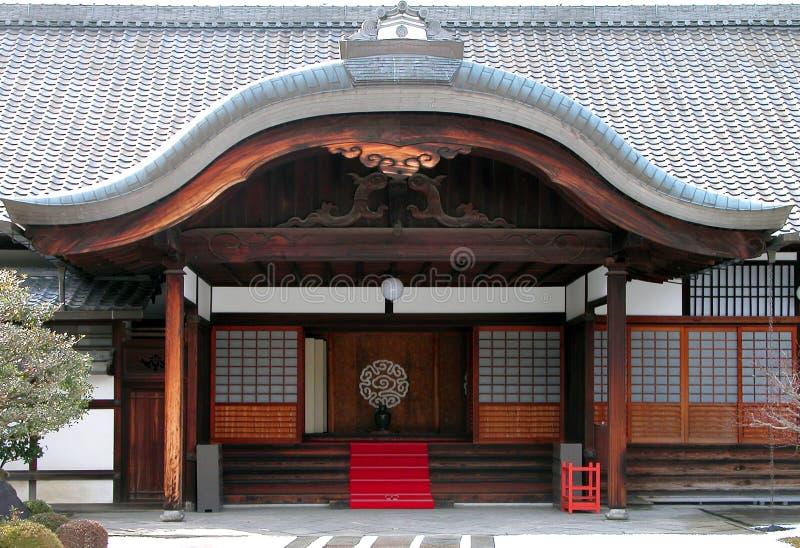 Entrata Del Tempiale Buddista Immagine Stock