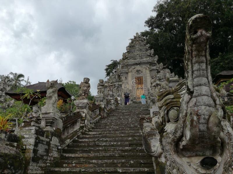 Entrata del tempio di Pura Kehen, un tempio ind? in Bali, Indonesia fotografia stock libera da diritti