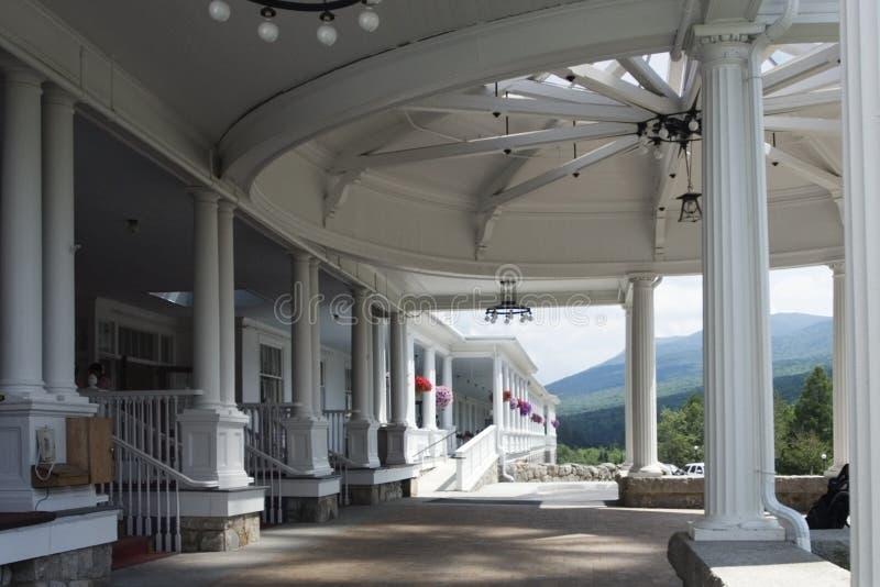 Entrata dell'hotel di Mt Washington fotografie stock libere da diritti