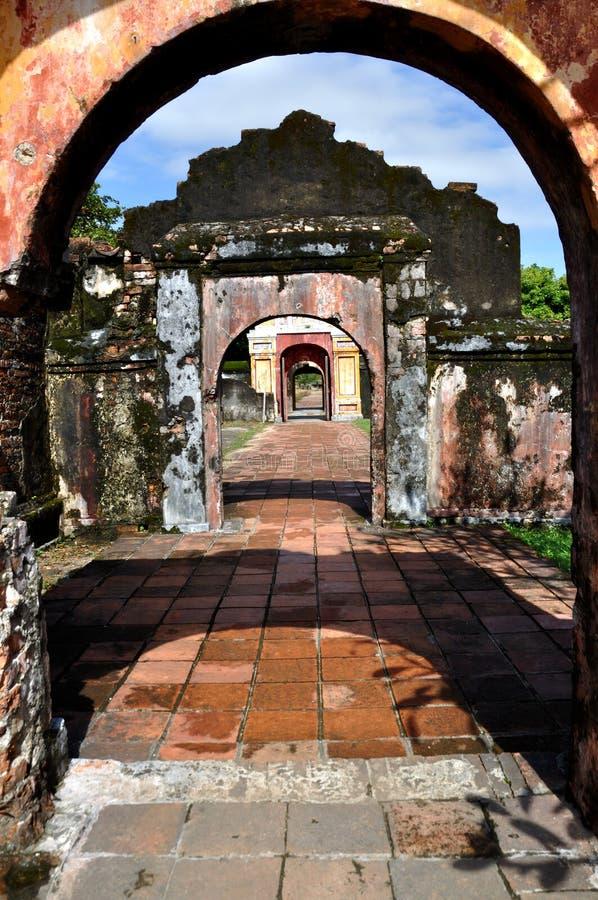 Entrata della cittadella fotografia stock