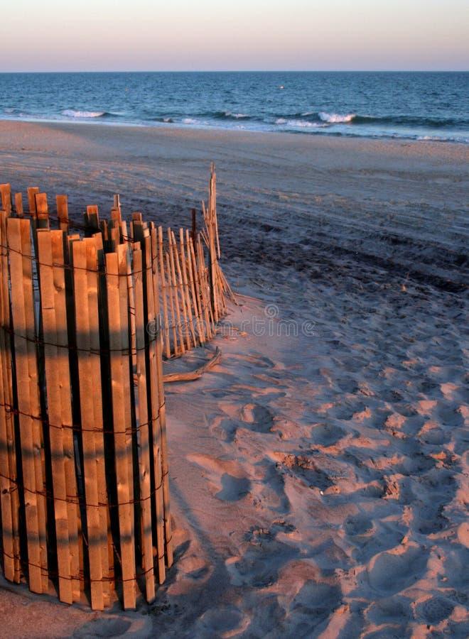 Entrata della spiaggia dell'isola del fuoco fotografia stock libera da diritti