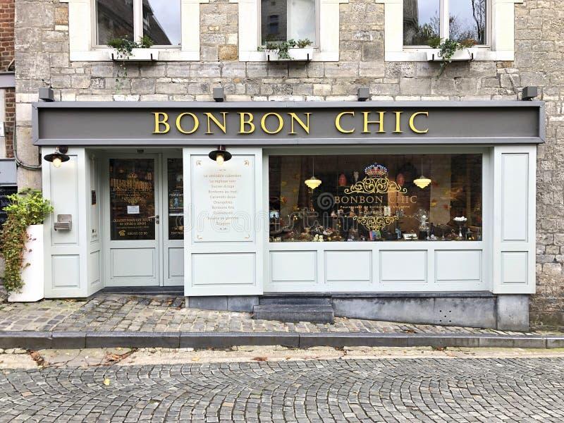 Entrata di Bon Bon Chic immagine stock libera da diritti