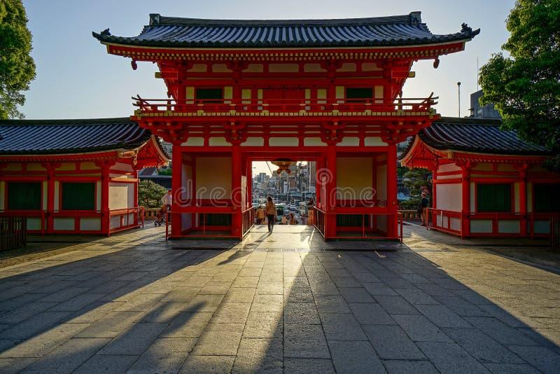 Entrata di Kyoto Higashiyama immagini stock