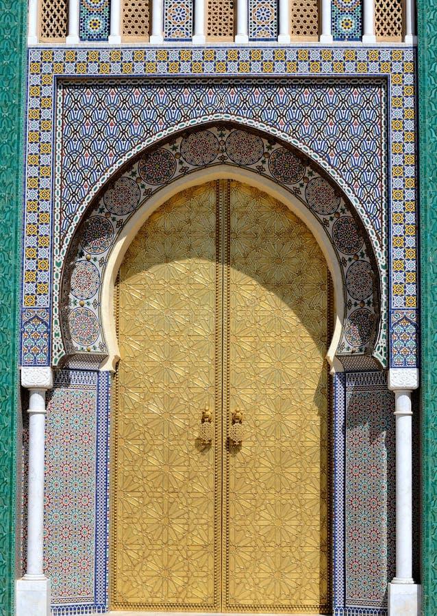 Entrata marocchina fotografia stock libera da diritti