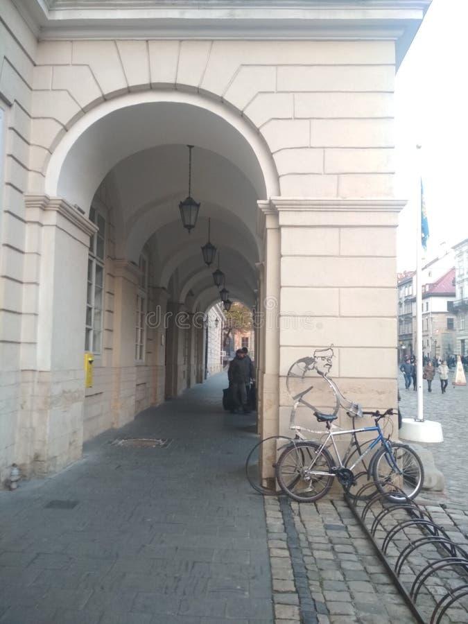 Entrata a municipio fotografie stock