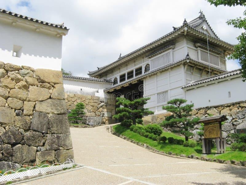 Entrata principale di Himeji fotografia stock libera da diritti