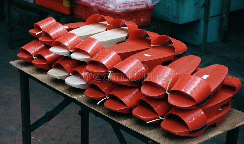Entraves chinoises rouges photos stock