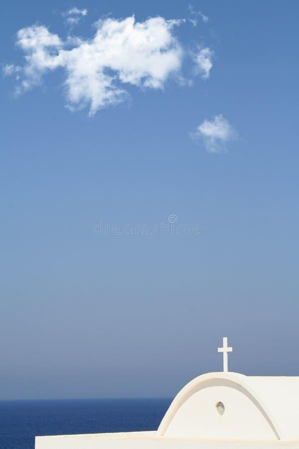 Entre el cielo y la tierra imagen de archivo