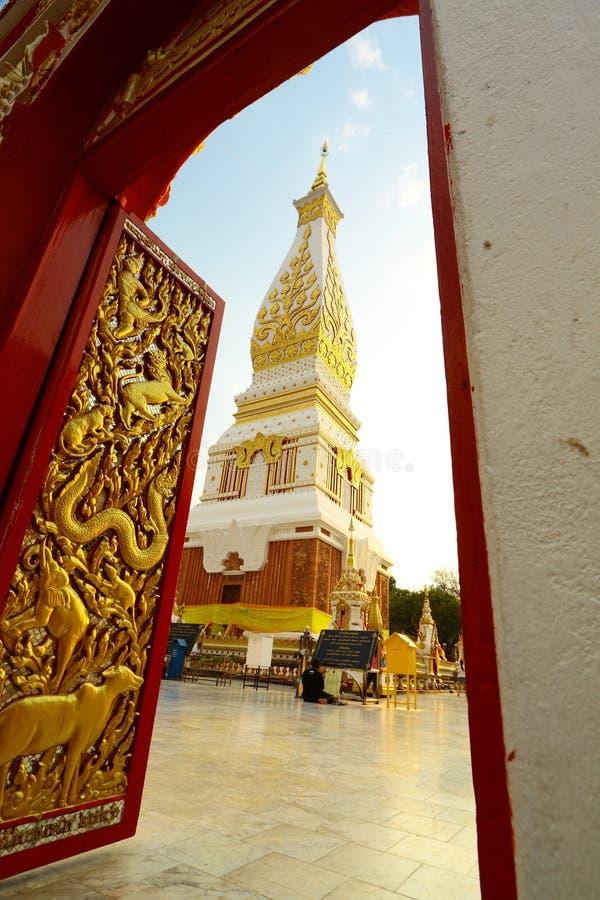 Entre en el área sagrada del Buddhism foto de archivo