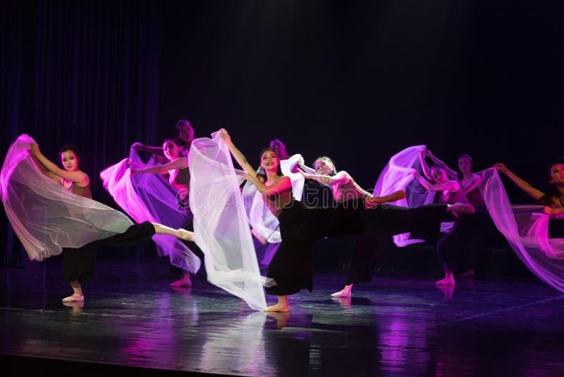 Entre l'idéal et la réalité 3--Âne de drame de danse obtenir l'eau photo stock