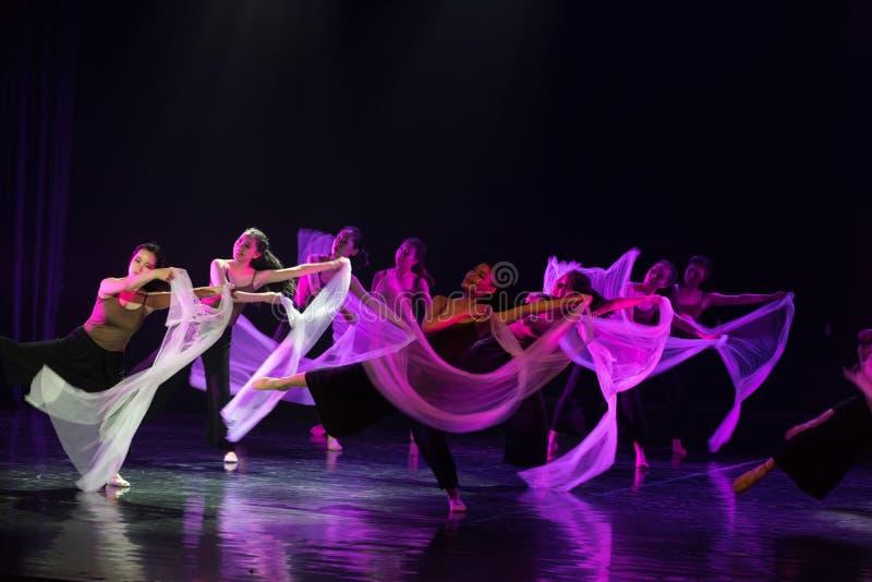 Entre l'idéal et la réalité 8--Âne de drame de danse obtenir l'eau image stock