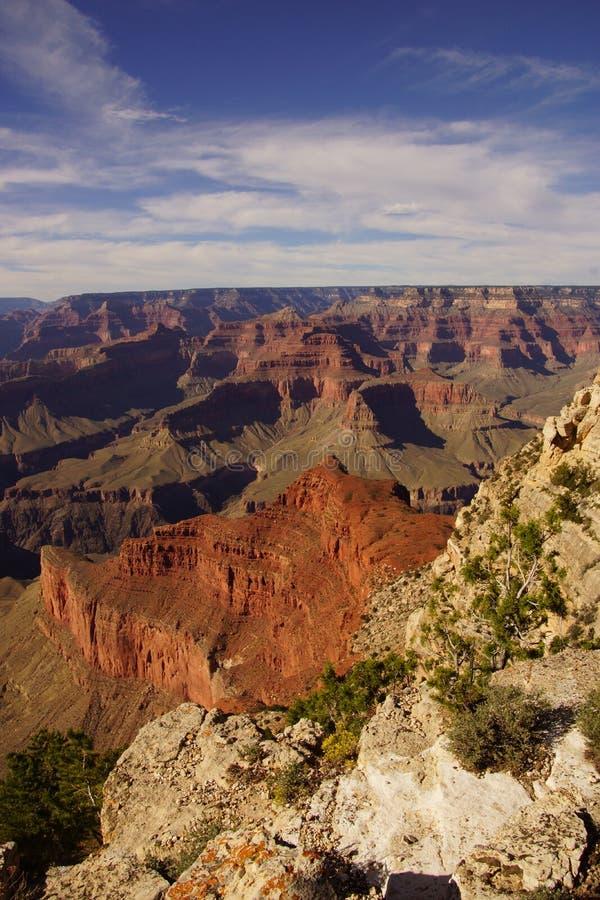 Entre le point de Mohave et le Hopi Point image libre de droits