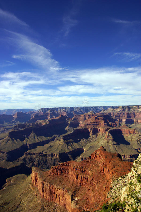 Entre le point de Mohave et le Hopi Point images libres de droits